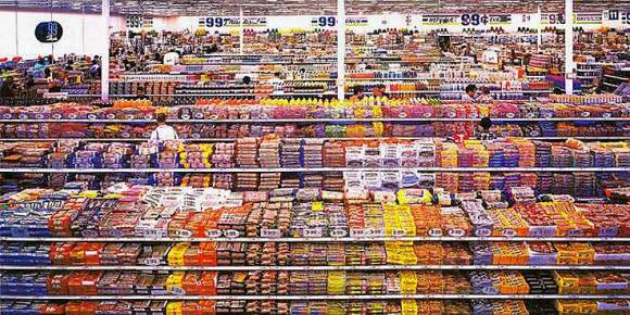 Andreas Gursky taps in on consumption